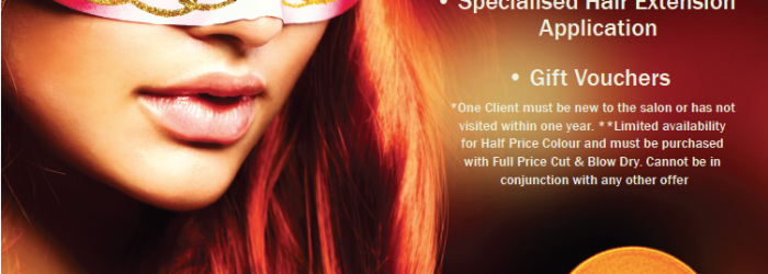 Jo Bullerwell Hair Salon Autumn Offers.